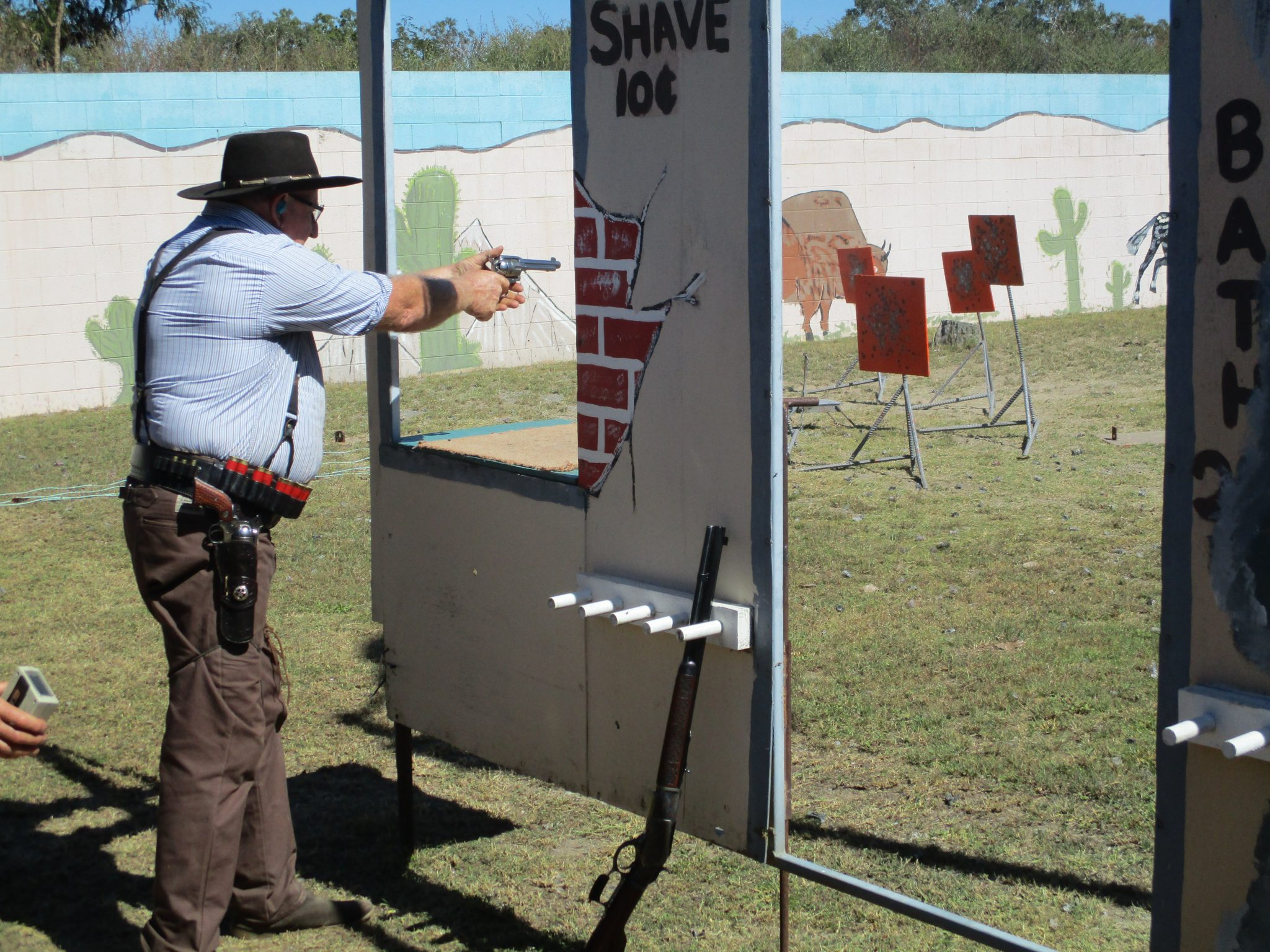 Single Action - Sporting Shooters Association of Australia